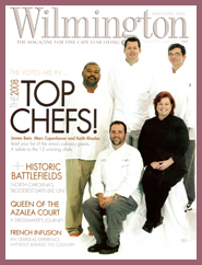 Chris Lubben of Chris' Cosmic Kitchen Featured in Wilmington Magazine
