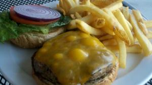 Hand Pattied Burger