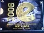 Best Lunch 2008